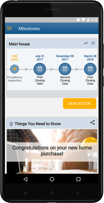 MyHomePlanner App
