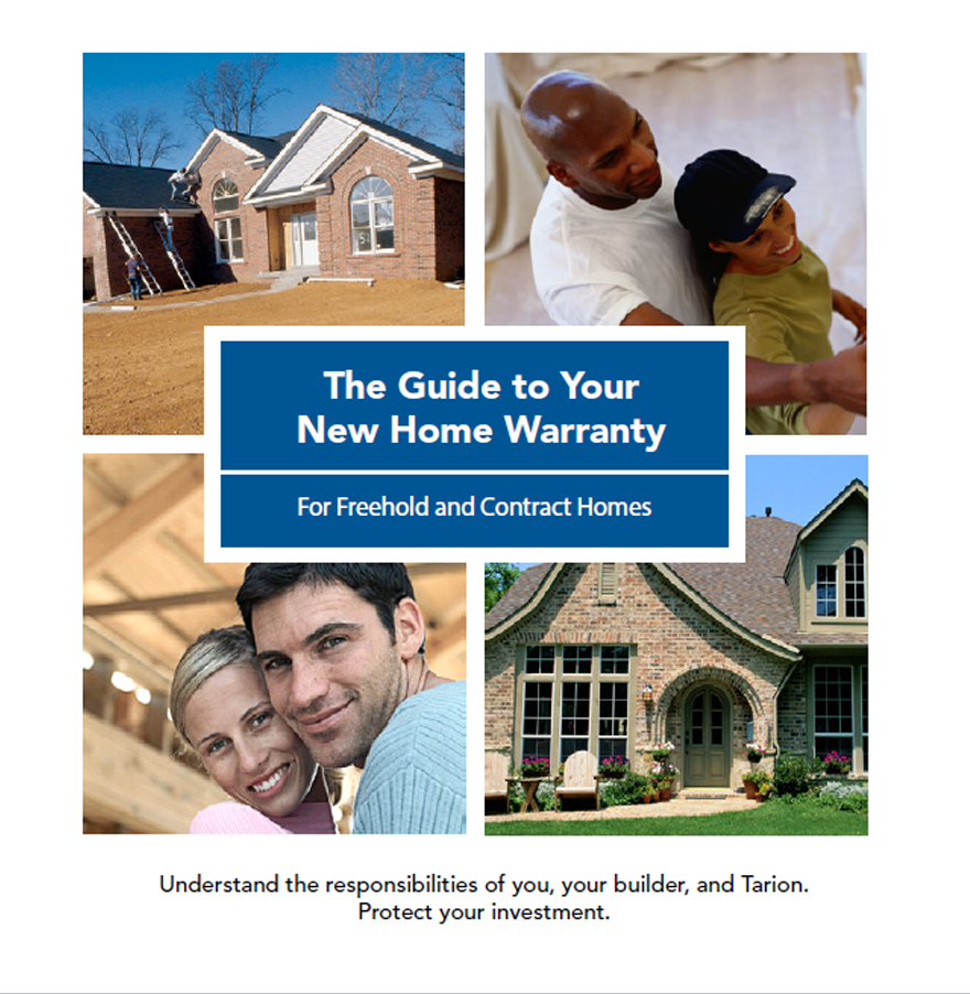 Homeowner Information Package - For Freehold and Contract Homes