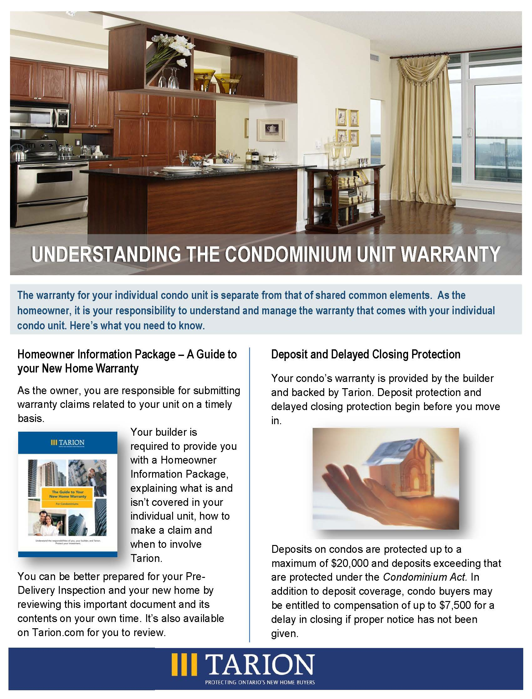 Understanding the Condominium Unit Warranty