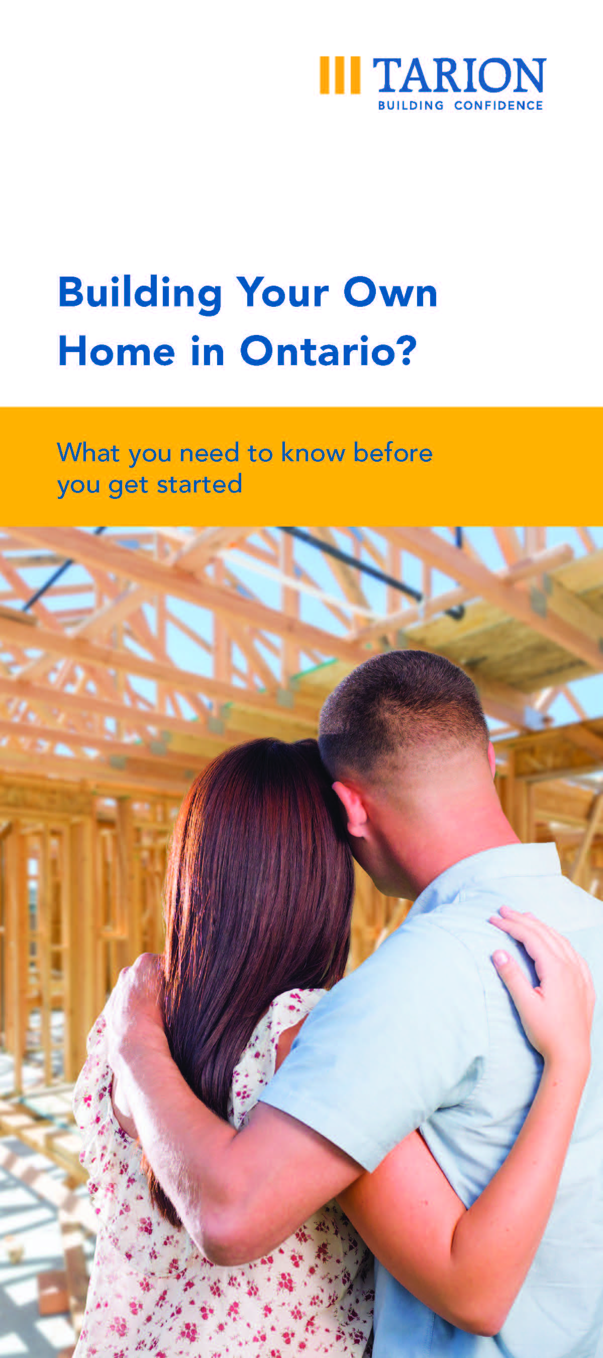 Building Your Own Home - Brochure Cover