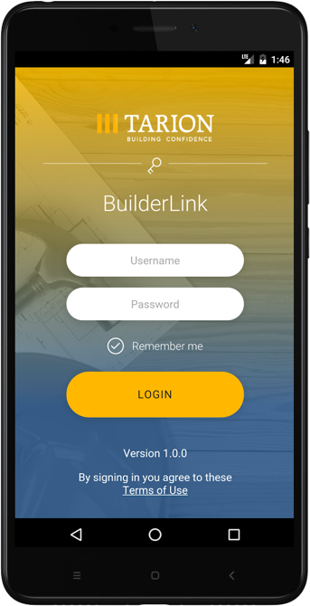 BuilderLink Phone App