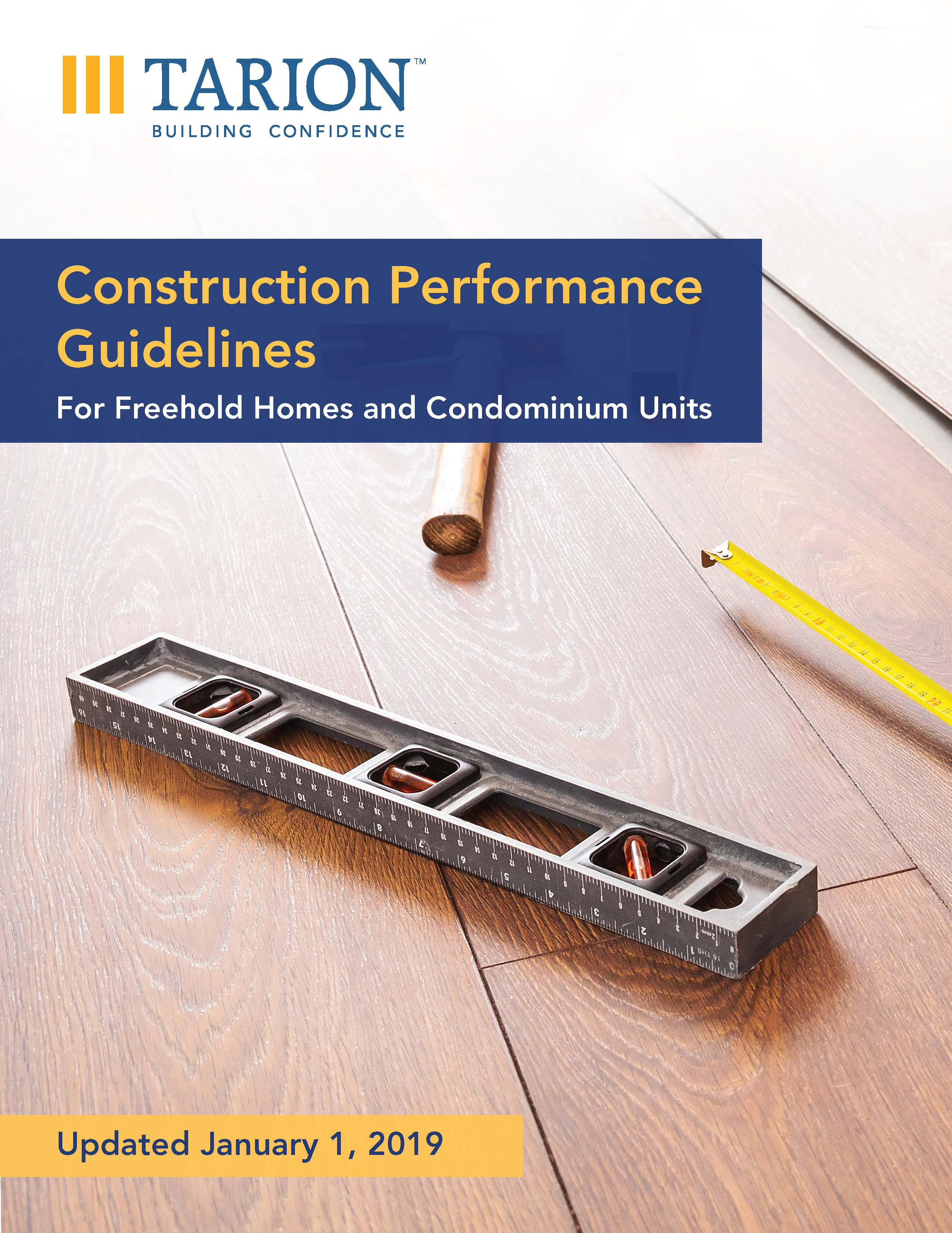 Construction Performance Guidelines new cover